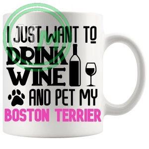 Pet My boston terrier pink