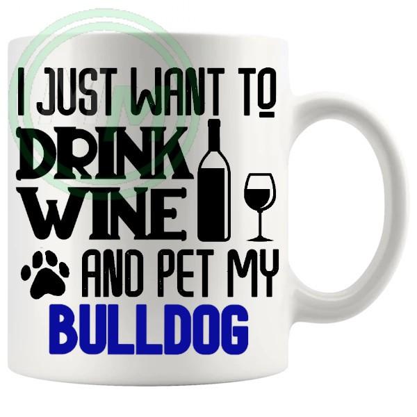 Pet My bulldog blue