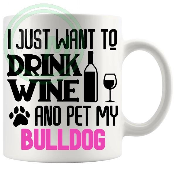 Pet My bulldog pink