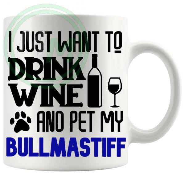 Pet My bullmastiff blue