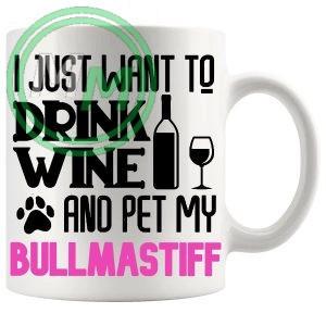Pet My bullmastiff pink