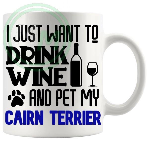 Pet My cairn terrier blue
