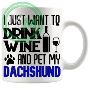 Pet My dachshund blue