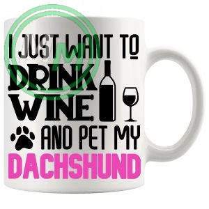Pet My dachshund pink