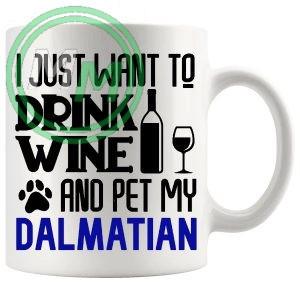 Pet My dalmatian blue