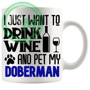 Pet My doberman blue