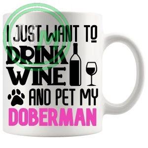 Pet My doberman pink