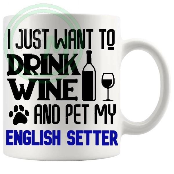 Pet My english setter blue