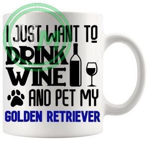 Pet My golden retriever blue