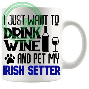 Pet My irish setter blue