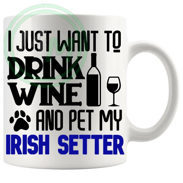 Pet My irish setter blue