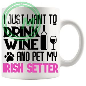 Pet My irish setter pink