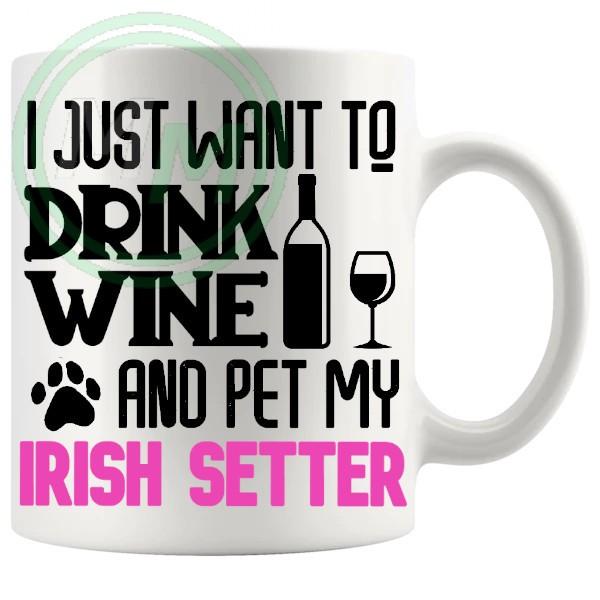 Pet My irish setter pink