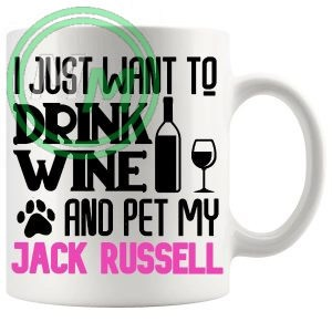 Pet My jack russell pink