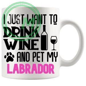 Pet My labrador pink