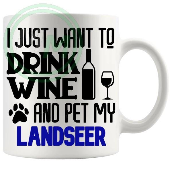 Pet My landseer blue