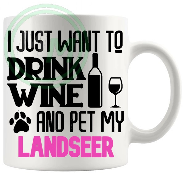 Pet My landseer pink