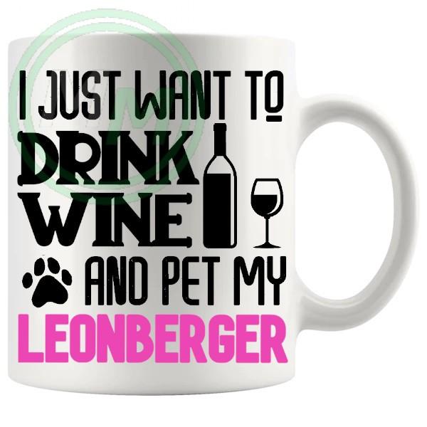 Pet My leonberger pink