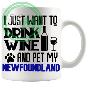 Pet My newfoundland blue