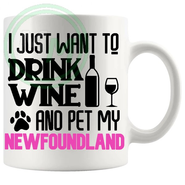Pet My newfoundland pink