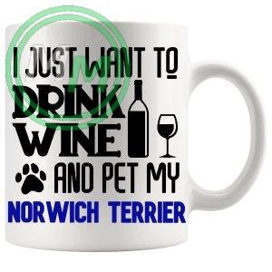 Pet My norwich terrier blue