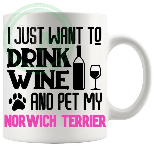 Pet My norwich terrier pink
