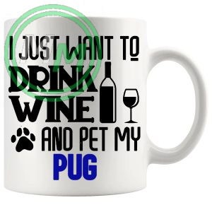 Pet My pug blue