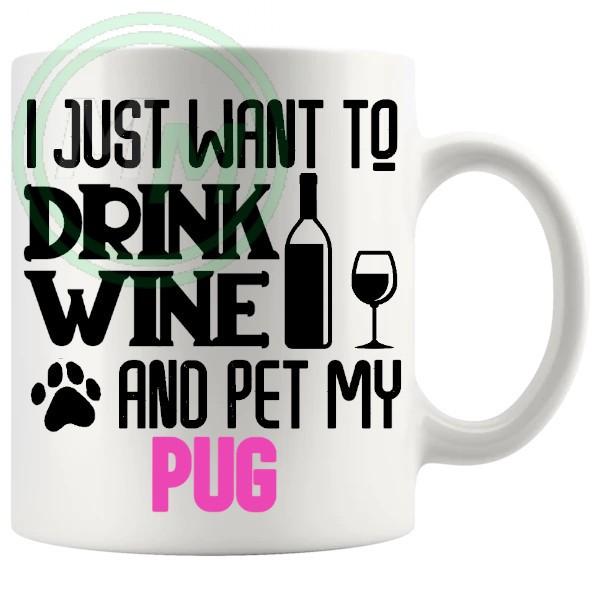 Pet My pug pink