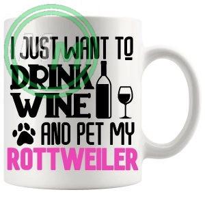 Pet My rottweiler pink