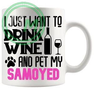 Pet My samoyed pink