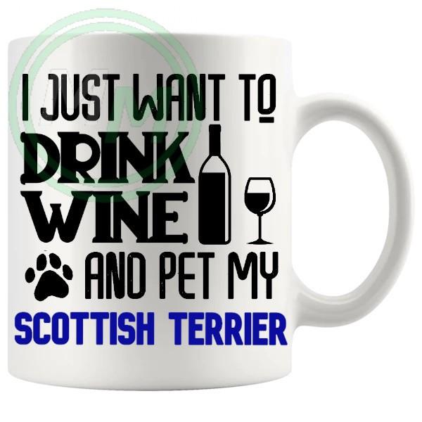 Pet My scottish terrier blue