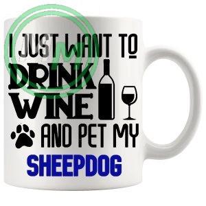 Pet My sheepdog blue