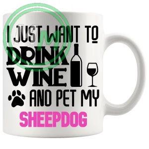 Pet My sheepdog pink