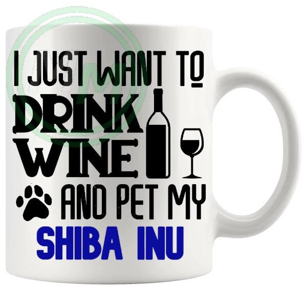 Pet My shiba inu blue