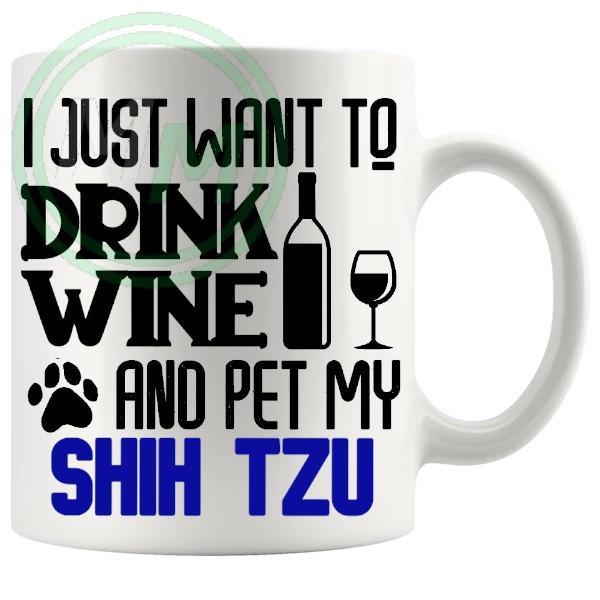 Pet My shih tzu blue