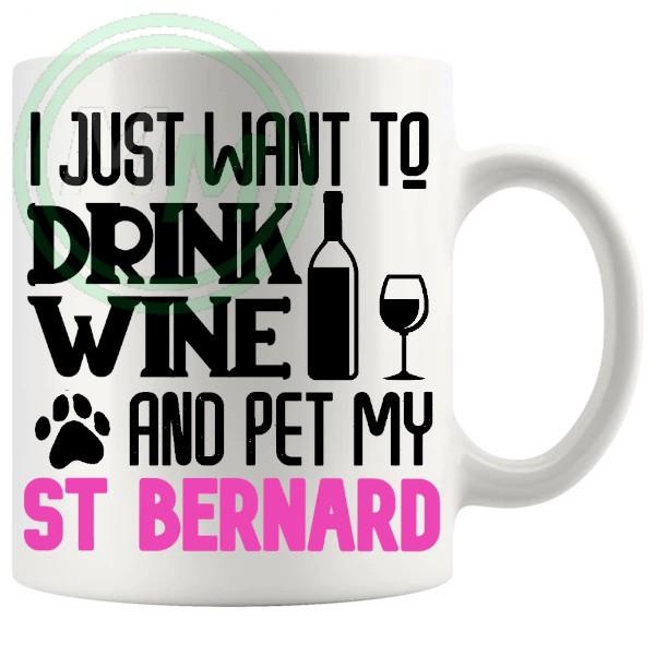 Pet My st bernard pink