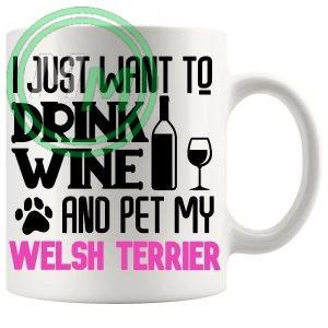 Pet My welsh terrier pink