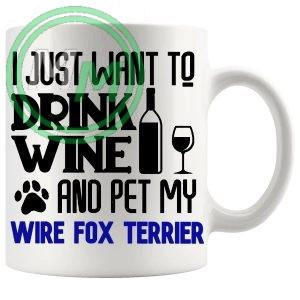 Pet My wire fox terrier blue