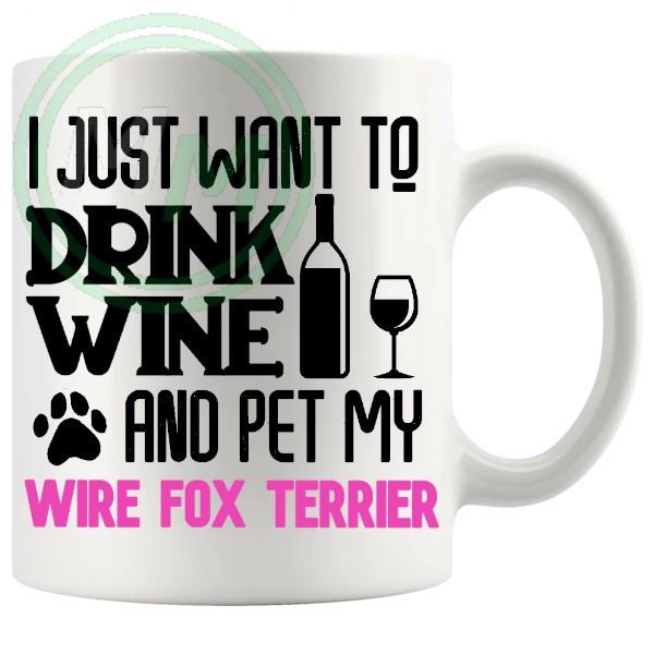 Pet My wire terrier pink