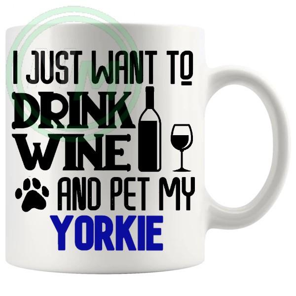 Pet My yorkie blue