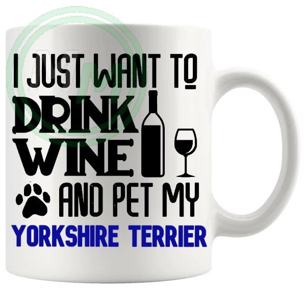 Pet My yorkshire terrier blue