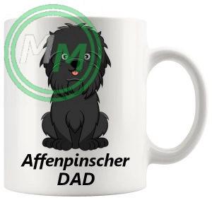 affenpinscher dad mug