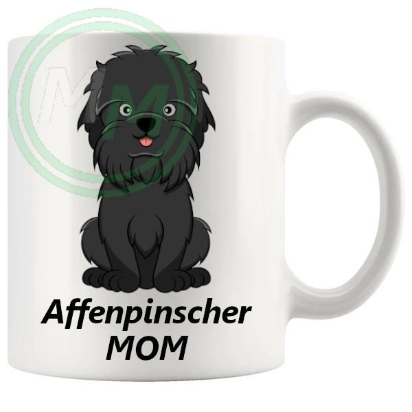 affenpinscher mom mug