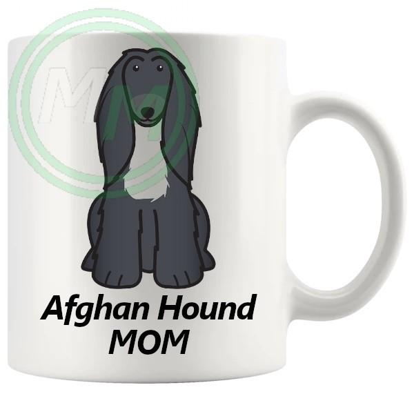 afghan hound mom mug
