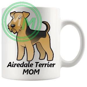 airedale terrier mom mug
