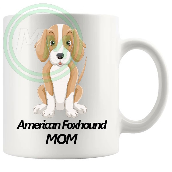 american foxhound mom mug