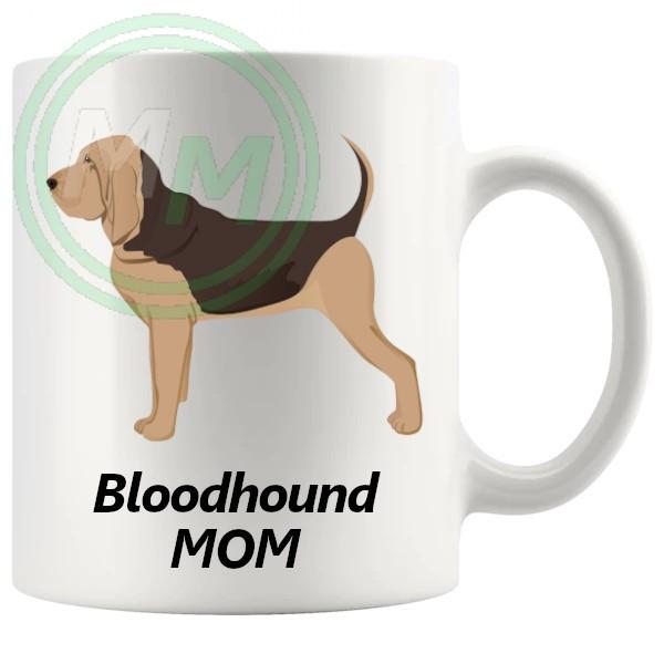 bloodhound mom mug