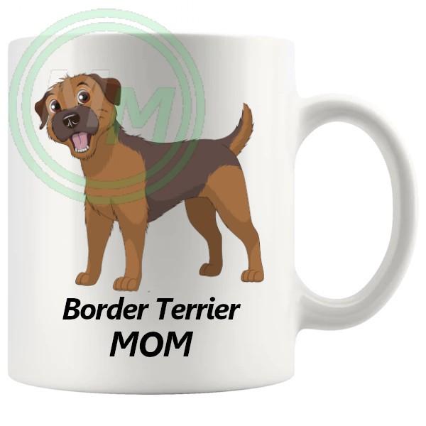 border terrier mom mug