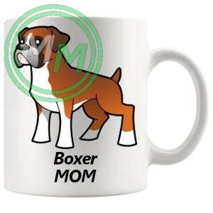 boxer mom mug