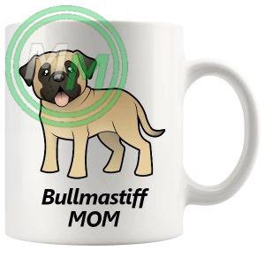 bullmastiff mom mug